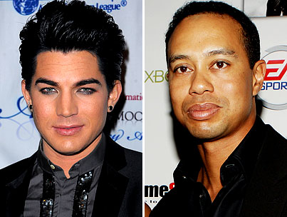 BUZZINGS: Adam Lambert Comes to Tiger Woods' Defense. Surely, This Will Put an End to the Hoopla.