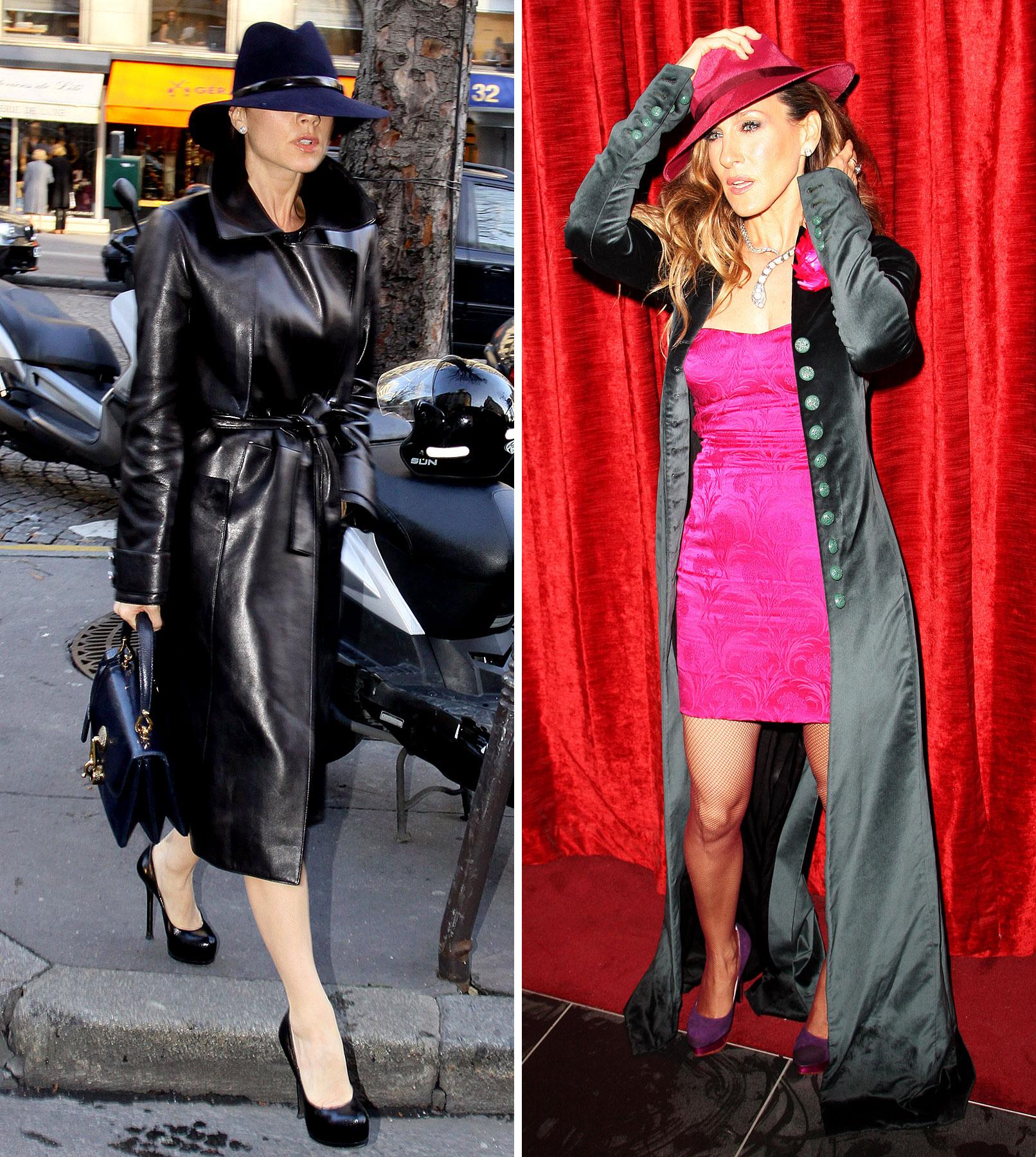 New Looks: Sarah Jessica and Posh Pioneer 'Sexy Carmen Sandiego'