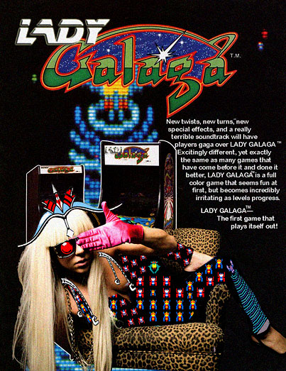 Today on the Internet: Lady Galaga