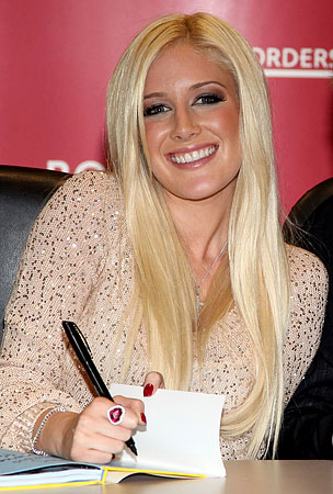 Heidi Montag Pens Poem, Pulitzer Committee Convenes Emergency Meeting