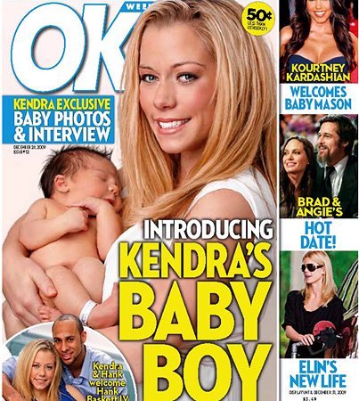BUZZINGS: Kendra Wilkinson's Son Gets a Way-Early Jump on the Whole Celebu-Tot Thing