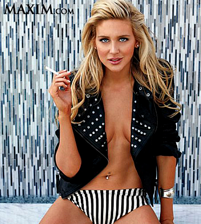 BUZZINGS: Stephanie Pratt's Maxim Photos Prove Fame-Whoring Is Genetic