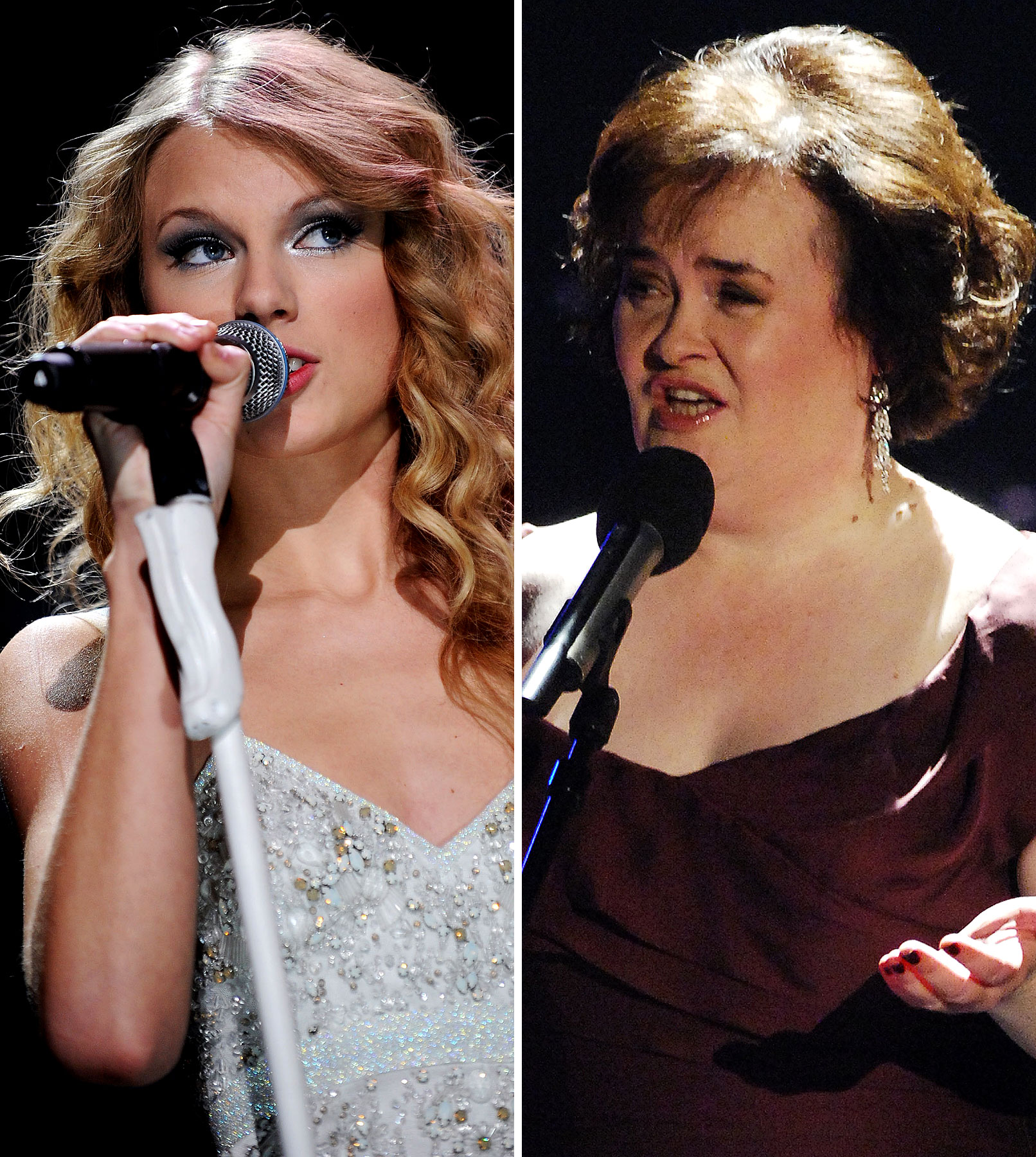 Taylor Swift vs. Susan Boyle In Epic Battle For Year's Top-Selling Artist