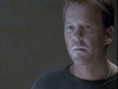 Uh-Oh, Kiefer Sutherland's Getting Coal in His Stocking (VIDEO)