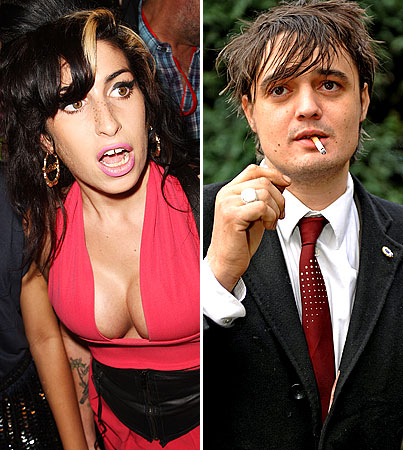 Amy Winehouse and Pete Doherty Not Taking Holiday From Being Total Disasters