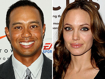 BUZZINGS: Angelina Jolie Throws Tiger Woods a Lifeline