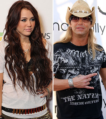 """Bret Michaels Doesn't Mind Miley's """"Rose"""""""
