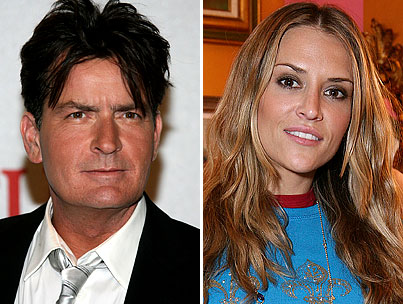 Report: Charlie Sheen Engaged in Knife-to-Wife Combat on Christmas