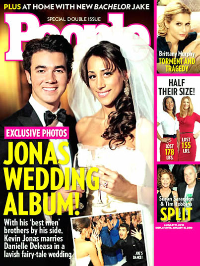 First Look At Kevin Jonas' Fairytale Wedding