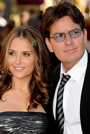 Report: Charlie Sheen Offers His Wife $1 Million to Put Up With Him a Little Longer