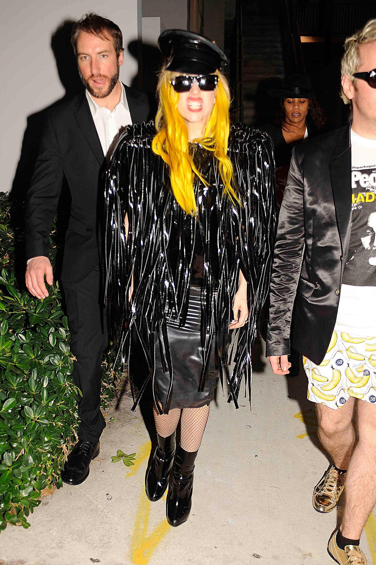 Orange You Glad to See Lady GaGa? (PHOTOS)