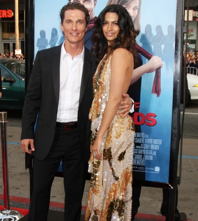Matthew McConaughey and Camila Alves: It's a Girl!
