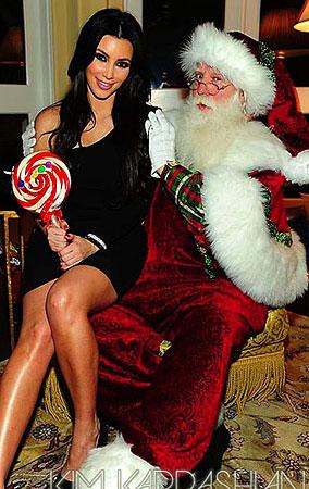 A Peek Into Kim Kardashian's Khristmas Eve (PHOTOS)