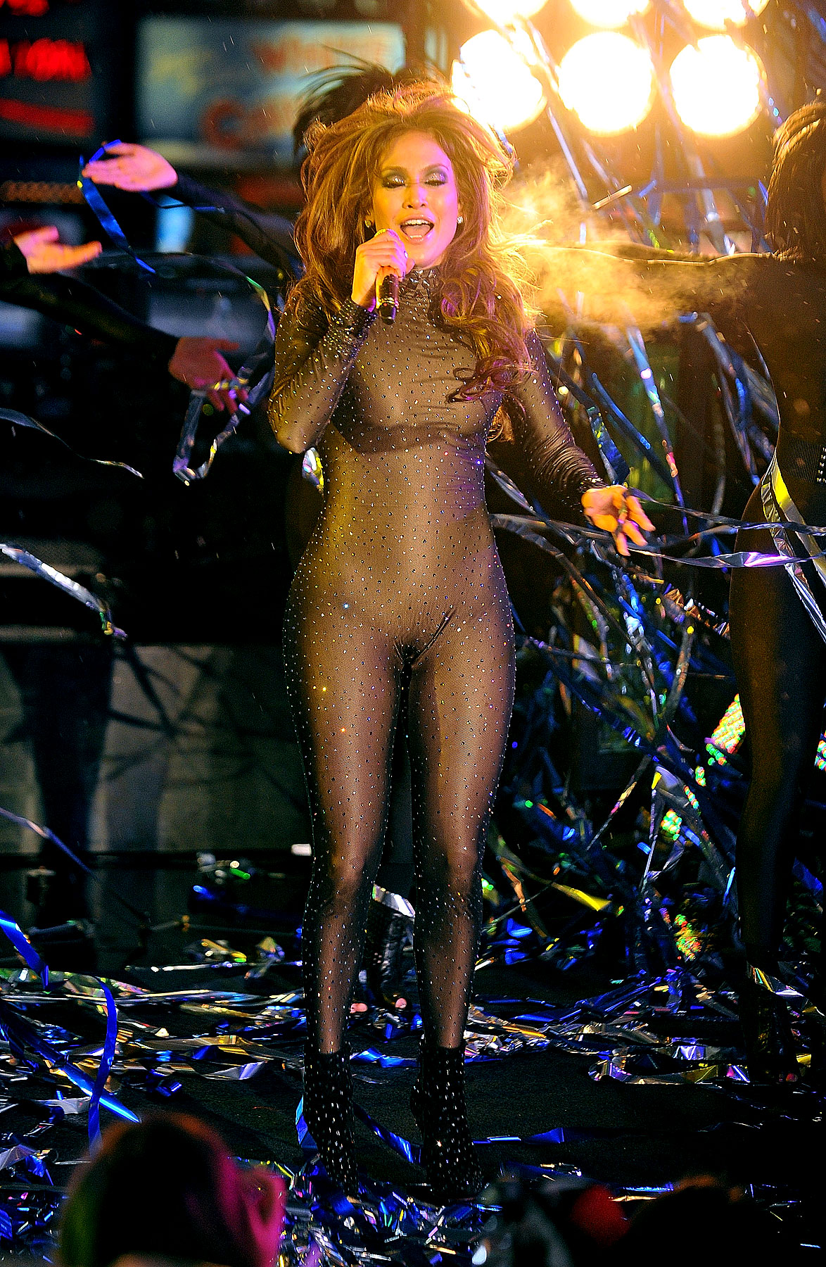 "Jennifer Lopez Reinventing Herself as ""Glitter Cat Superhero"""