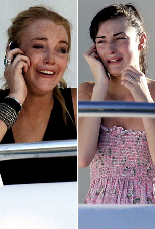 There's No Crying In Living Lohan! (PHOTOS)