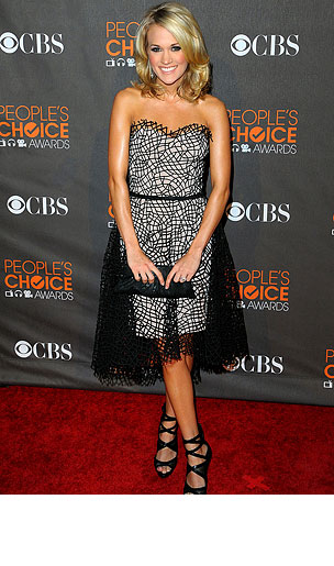 2010 People's Choice Awards: Arrivals (PHOTOS)