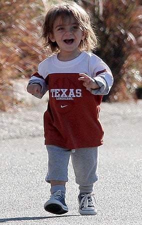 Little Levi Supports the Longhorns (PHOTOS)