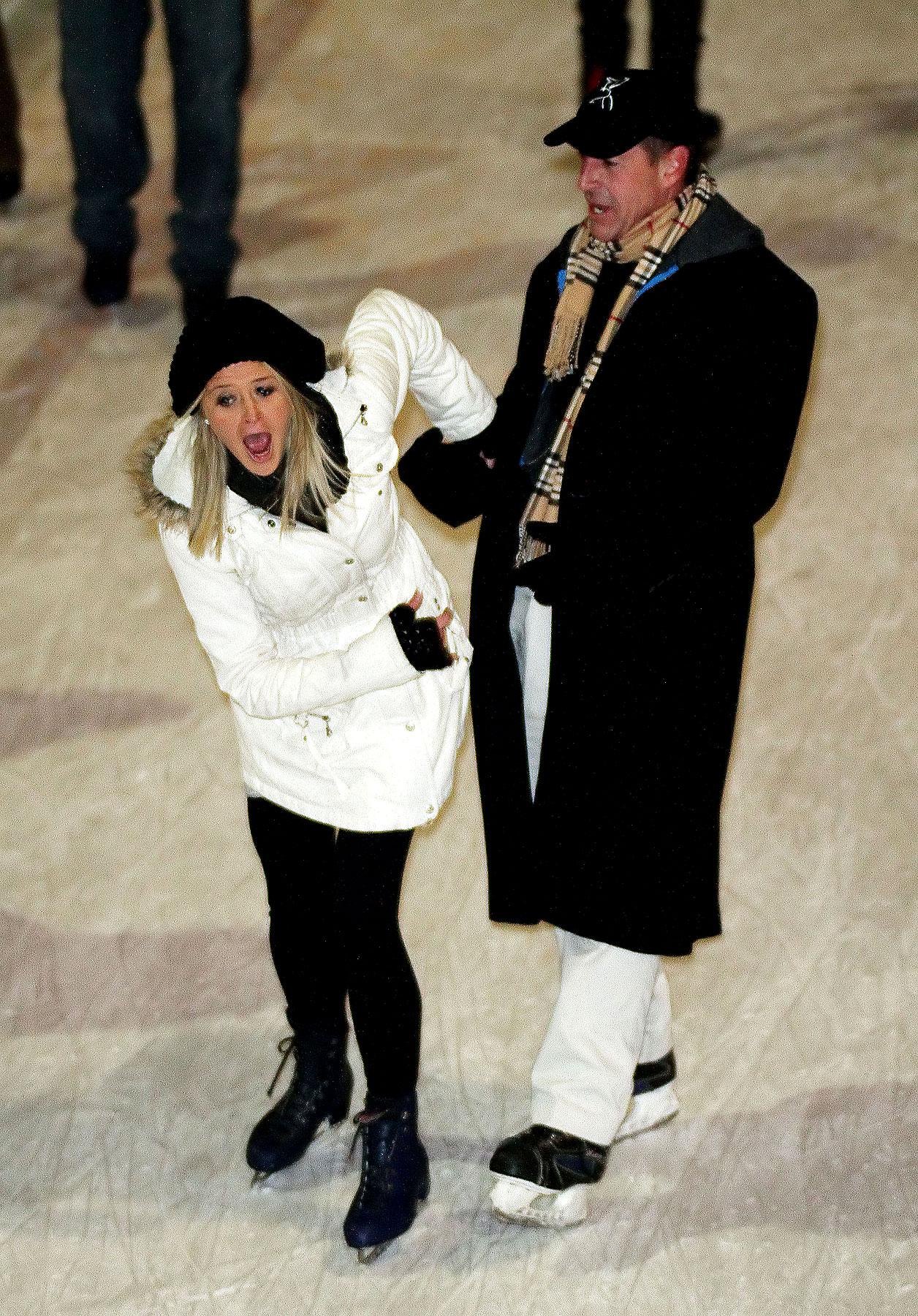 Michael Lohan & Kate Major's Awfulness, On Ice! (PHOTOS)
