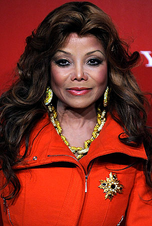 La Toya Jackson Wants Simon Cowell's 'Idol'  Job. Let the Insanity Begin!