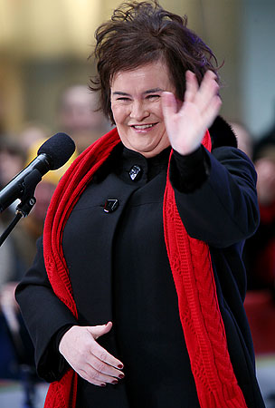 Ways In Which Susan Boyle Defines Cool