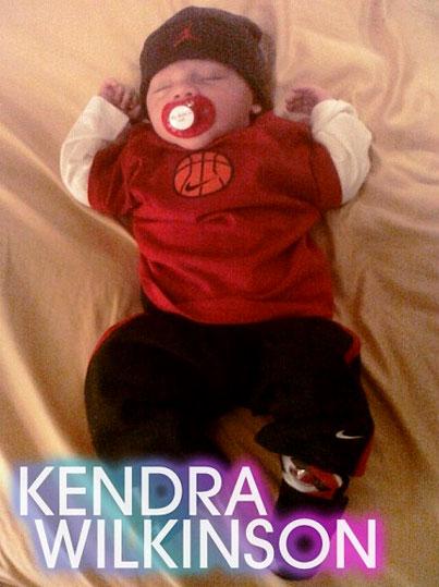 Kendra Wilkinson's Baby Reacts to Leno vs. Conan Late Night Drama