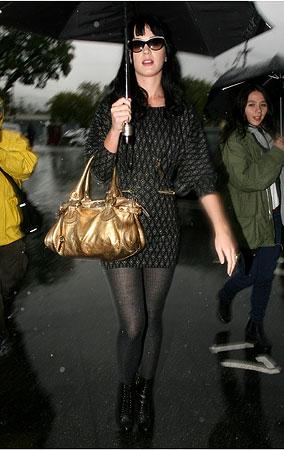 Celebs Make It Rain In Los Angeles (PHOTOS)