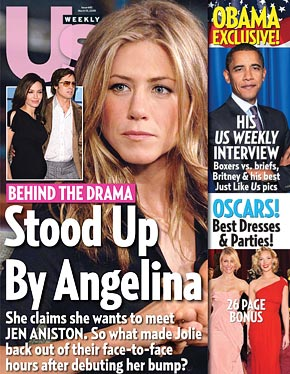 The 40 Dumbest Jen & Brangelina Tabloid Covers Of All Time (PHOTOS)
