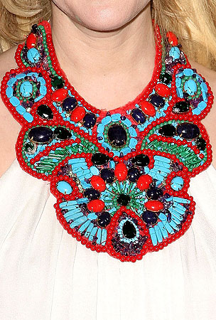 Guess the Bedazzled Celebrity Neck-cessories (PHOTOS)