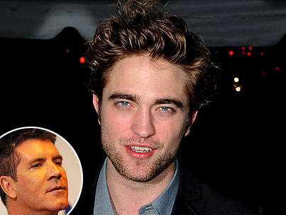 Robert Pattinson and Simon Cowell: Making Beautiful Music Together?