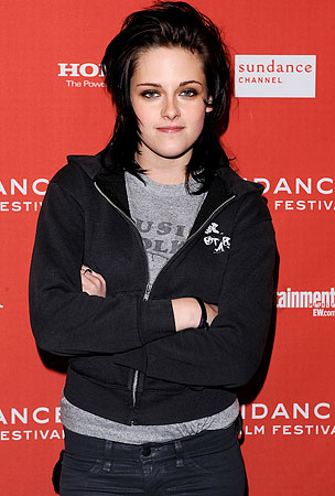 Kristen Stewart Sells Herself for Haiti. No, Not Like That.