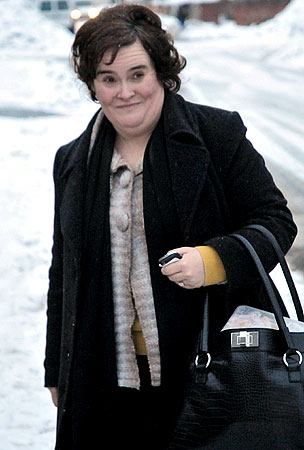 Susan Boyle Finds Intruder in Home, Scares Him Off With Mating Call