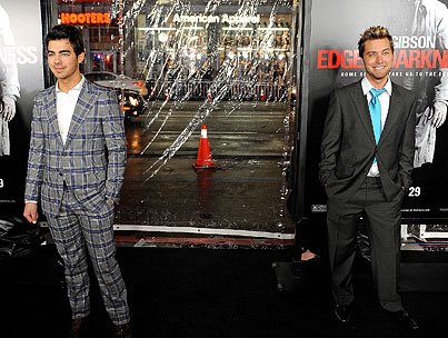Joe Jonas and Lance Bass: What Up With That?