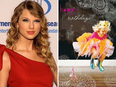 Taylor Swift's Greeting Cards Feature Cute Animals Doing Cute Things. Is Anyone Surprised?