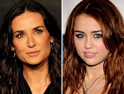 Miley Cyrus and Demi Moore in a Movie Together? LOL. No, Really.