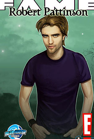 Robert Pattinson Becomes the Sexiest Comic-Book Character Since Little Lotta