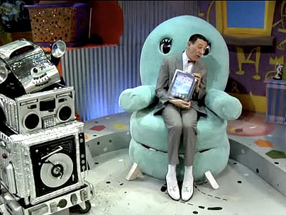 Today On The Internet: Pee Wee Herman Gets An iPad