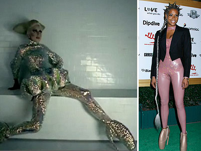 Kelis Attempts The Black Lady Gaga Avatar Statue Of Liberty Look