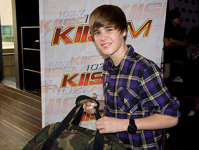 Win A 2010 Grammy Gift Bag Autographed By Justin Bieber