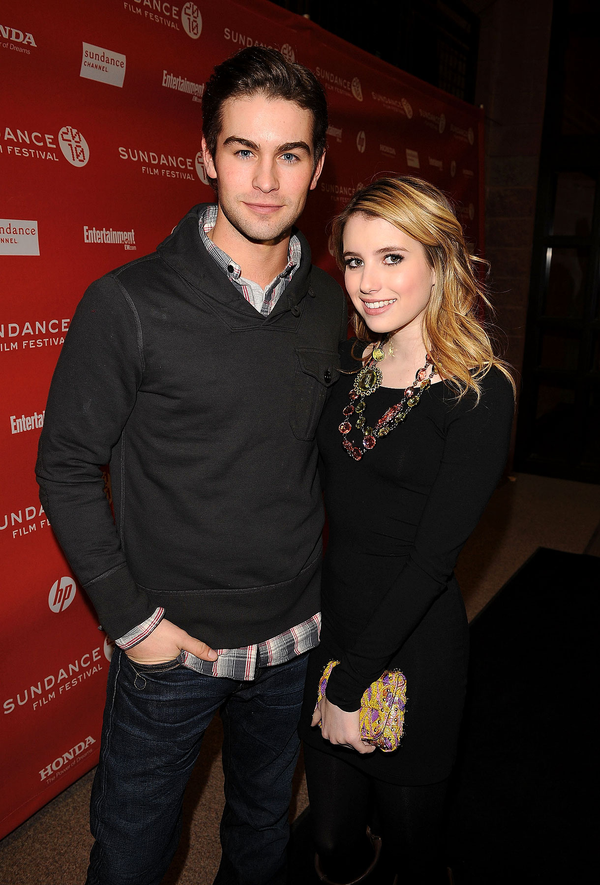 Chace Crawford & Emma Roberts Do Sundance (PHOTOS)