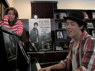 Nick Jonas Celebrates His Album Release By Singing Other People's Songs  (VIDEO)