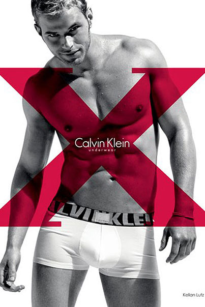 """""""Kellan Lutz In His Underwear"""" Ad Reqiuires Giant Red """"X"""" So You Know Where To Look (PHOTOS)"""