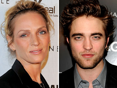 "BUZZINGS: Robert Pattinson Finds Sex With Uma Thurman ""Disturbing."" Huh; Today Must Be Opposite Day."