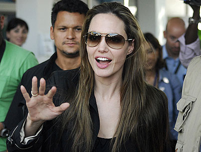 BUZZINGS: Angelina Jolie Will Not—Repeat NOT—Be Adopting a Haitian Child. So There!
