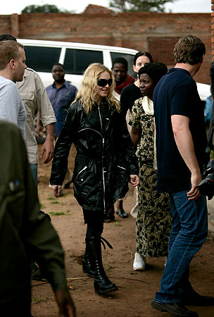 Madonna Wants to Help Malawi by Evicting 200 of Its Residents