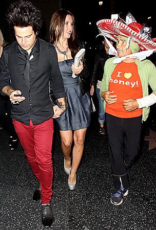 Ryan Cabrera & Audrina Patridge Date Night (PHOTOS)