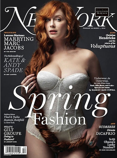 Christina Hendricks Brings Curves To The Fashion World On The Cover Of New York Magazine