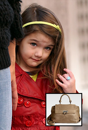 Will Suri Cruise's $850 Handbag Set Off A Mad Rush Toward Celebrity Child Excess Oblivion?