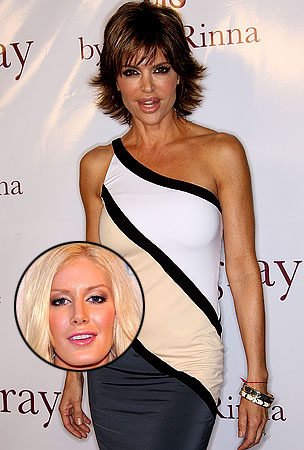 Lisa Rinna Rips Heidi Montag's New Face in the Battle of Pot vs. Kettle