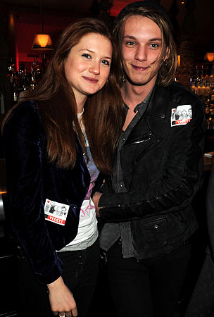 Jamie Campbell Bower and Bonnie Wright Are Officially an Item, May Spark Truce Between Twi-Hards and Potter-Heads