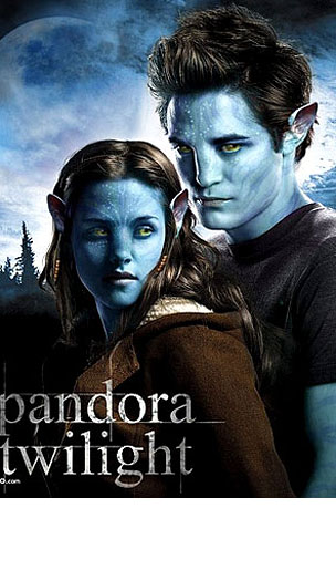 Twilight In Pandora, and Other Hilarious Movie Poster Mash-Ups (PHOTOS)